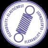 AKRINOL - elastično - vijola